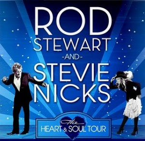 Rod Stewart and Stevie Nicks Heart Soul Tour 300x292 Rock Legends Stevie Nicks and Rod Stewart Together for the Heart and Soul Tour!