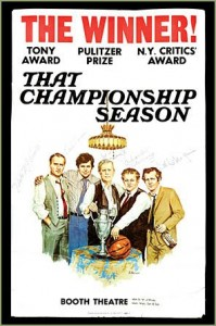 thatchampionshipseason 199x300 That Championship Season: Broadway's Star Studded Revival of a 1972 Hit