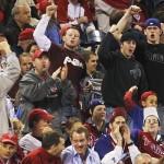 Fans start chanting U-S-A!