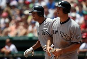 Rodriguez+Teixeira Yankees 300x300 HBO's Entourage Pays Yankee Stadium a Visit