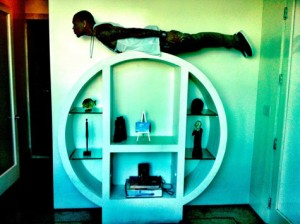 chris brown planking 300x300 Celebrity Planking Pics: Justin Bieber, Chris Brown, Katy Perry and More!