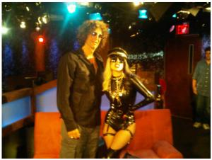 Lady Gaga Interviews at Howard Stern Radio Show
