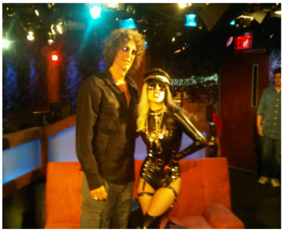 lady gaga howard stern 400x326 custom Is Lady Gaga Dying?
