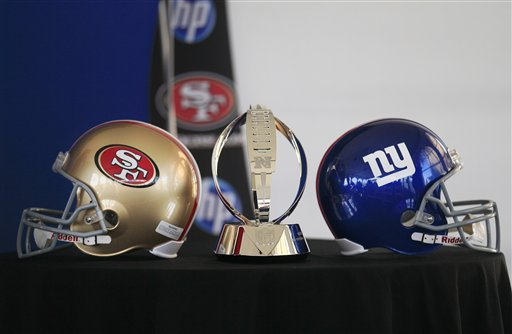giants san fran 49ers New York Giants One Win From Super Bowl XLVI