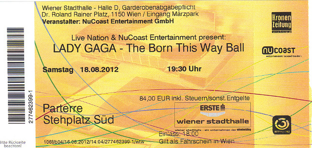 lady gaga born this way ball See Lady Gaga: Live In Concert!